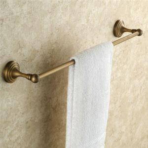Handtuchstange Antik Messing Einarmig im Badezimmer