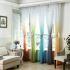 Zeige Details für Moderne Gardine Farbverlauf im Wohnzimmer