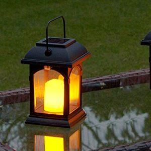 Solarleuchte für Garten Balkon Warm