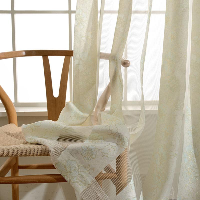 minimalismus gardine beig blumen im schlafzimmer. Black Bedroom Furniture Sets. Home Design Ideas