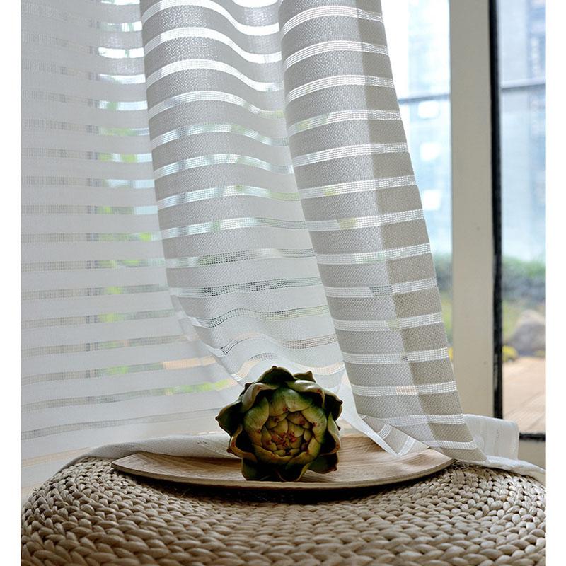 Modern Gardine Minimalismus Streifen im Büro Wohnzimmer
