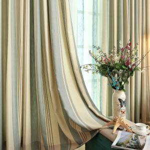 Japanische Vorhang Minimalismus Streifen Jacquard im Schlafzimmer