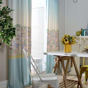 Modern Vorhang Catoon Haus Deisgn im Kinderzimmer