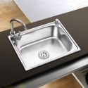 Küchenspüle Edelstahl Spülbecken Modern S5040 20in