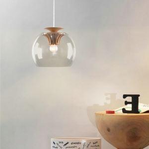 Pendelleuchte Glas Modern Stilvoll Zahnrad Design im Esszimmer