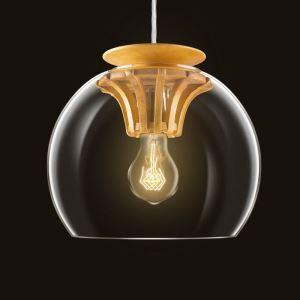 Pendelleuchte Glas Modern Stilvoll Zahnrad Design im Esszimmer-Originell Design
