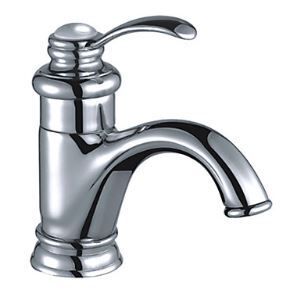 (EU Lager)Klassische Messing Bad Waschtischarmatur - Chrom-Oberfläche