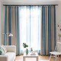 Modern Vorhang Farbverlauf Streifen im Wohnzimmer