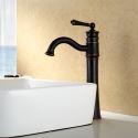 Einhandmischer Schwarz für Waschtisch im Badezimmer