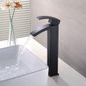 Einhandmischer für Waschtisch Retro Schwarz im Badezimmer