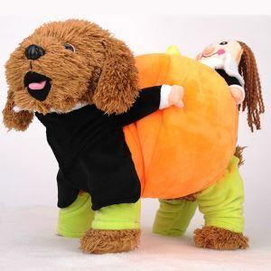 Haustier Kleidung T-Shirt mit Kürbis Kostüme für Partys Halloween