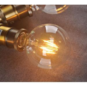 Led Lampe E27 6W Vintage 3er Pack