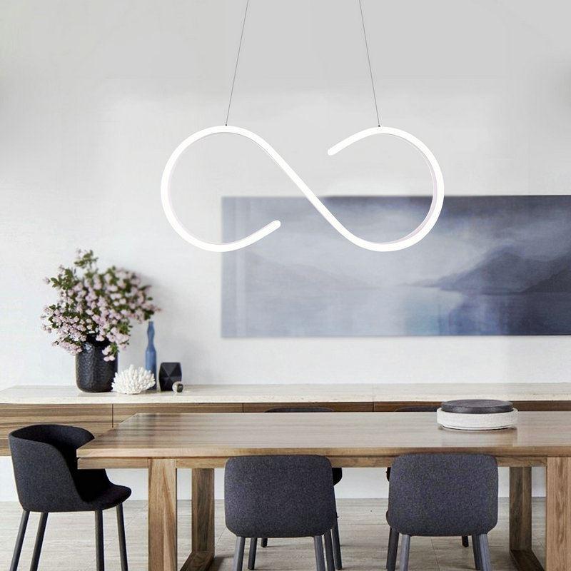 Led Pendelleuchte Modern S Design Im Wohnzimmer