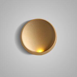 Led Wandleuchte Kreis Design aus Acryl