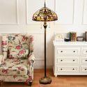 Retro Stehlampe klassisches Design Günstig im Schlafzimmer