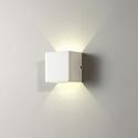 Modern Wandleuchte Eisen LED 1 flammig Eckig Matt Weiß