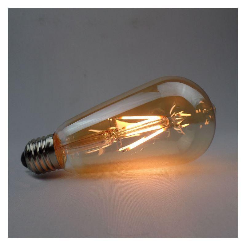 e27 4w led lampe rustikal 2er pack