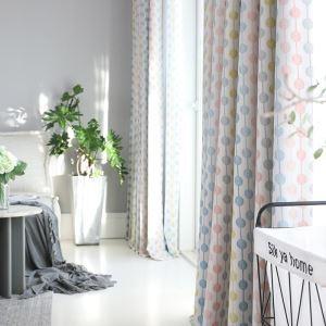 Moderner Vorhang Perle Design im Kinderzimmer (1er Pack)