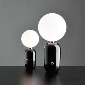 Tischleuchte Modern aus Glas Kugel Design