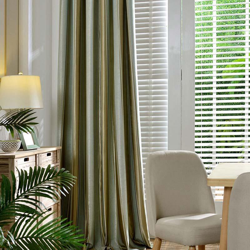 Verdunkelungsvorhang Modern Streife Design Für Schlafzimmer