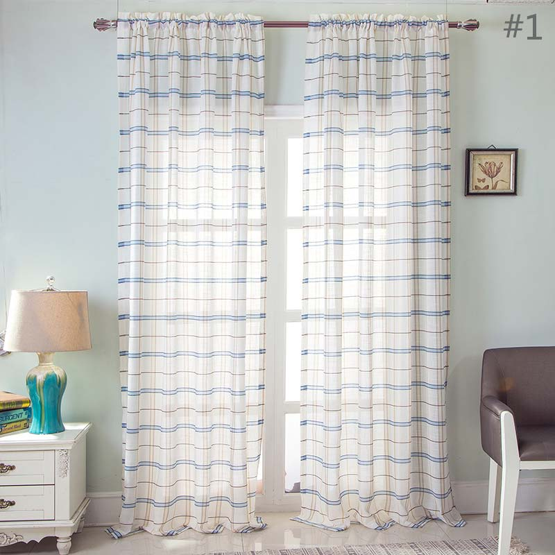 Moderne Gardine Gitter Design für Wohnzimmer