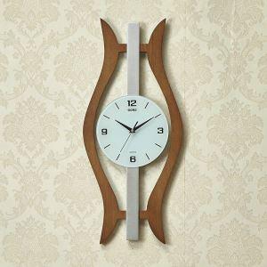 Wanduhr Stilvoll Lautlos Holz Design