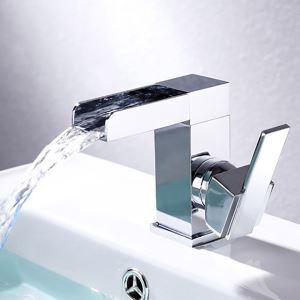 Waschtischarmatur Einhand Mischbatterie in Chrom