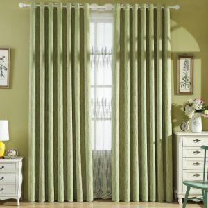 Gardine Modern Wald Design im Wohnzimmer (1er Pack)