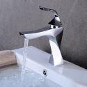 Waschtischarmatur Einhebel Spiral Design Mischbatterie