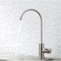 Osmose Wasserhahn Küchenarmatur Kaltwasser Einhand aus Edelstahl Gebürstet