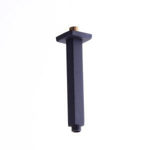 Duscharm Brausearm für Duschbrause In Schwarz 20cm