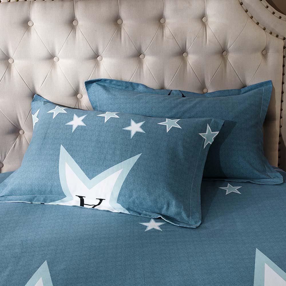 Bettwäsche Sterne Muster Aus Baumwolle 4 Teilig