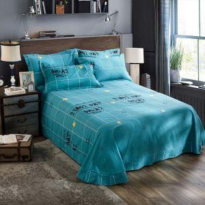 Modern Bettwäsche Sterne Motiv aus Baumwolle 4-teilig