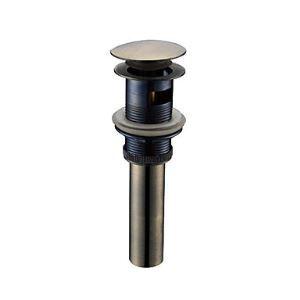 (EU Lager)Antik Bronze Ablaufgarnitur für Waschtisch / Waschbecken (0698-1002)
