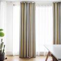 Moderner Vorhang Bunter Streifen aus Baumwolle und Leinen