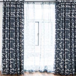Moderner Vorhang mit Taubenmuster für Schlafzimmer