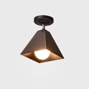 Aparte Deckenlampe Strahler aus Metall für Flur