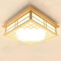 Eckige LED Deckenleuchte für Schlafzimmer