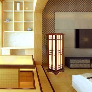 Stehleuchte Fantastisch aus Holz Eckig Design für Hotel