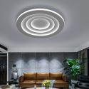 Runde LED Deckenleuchte aus Eisen