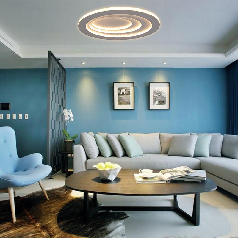 Moderne Led Deckenleuchte Oval Fur Wohnzimmer