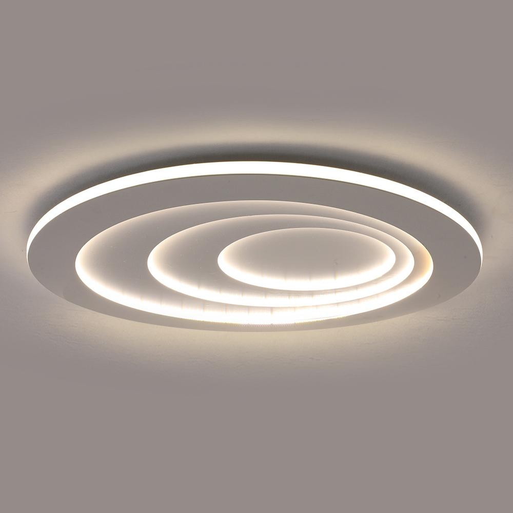 Moderne LED Deckenleuchte Oval für Wohnzimmer