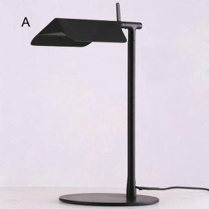 Nordische Tischlampe Buch Design aus Eisen Schwarz