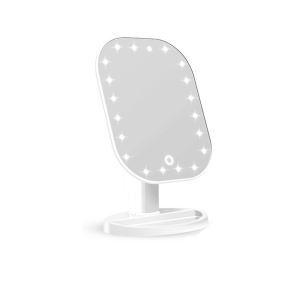 Kosmetikspiegel Led Standspiegel Eckig Touch-Design