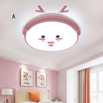 LED Deckenleuchte Tiere Motiv für Kinderzimmer Cartoon Stil