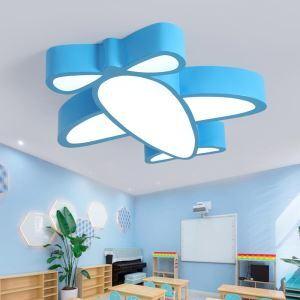 LED Deckenleuchte Flugzeug Design Cartoon Stil