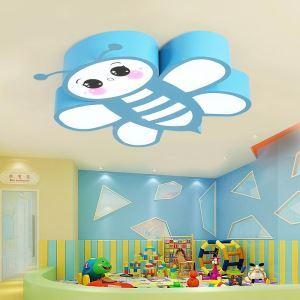 LED Deckenleuchte Biene Design für Kinderzimmer