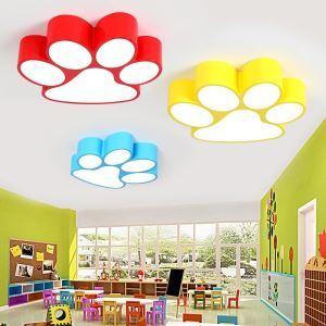 LED Deckenleuchte Hundeklaue Design für Kinderzimmer