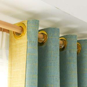 Minimalismus Vorhang Uni aus Chenille für Wohnzimmer