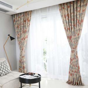 Moderner Vorhang Tinten-Serie aus Baumwolle und Leinen für Schlafzimmer
